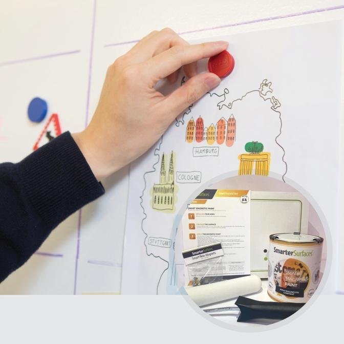Pintura-Magnetica-producto-en-uso-con-el-kit-completo
