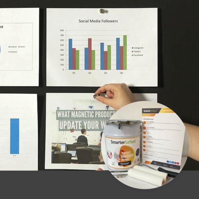 Pintura-Súper-Magnética-producto-en-uso-con-el-kit-completo