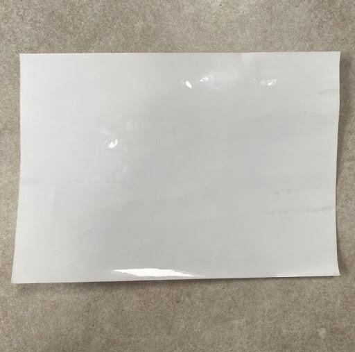 Smarter Surfaces Self Adhesive Film Clear Sample