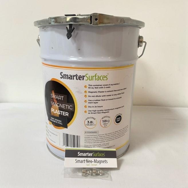 Yeso-Magnetico-producto-en-uso-con-el-kit-completo-guia-de-aplicacion-e-imane